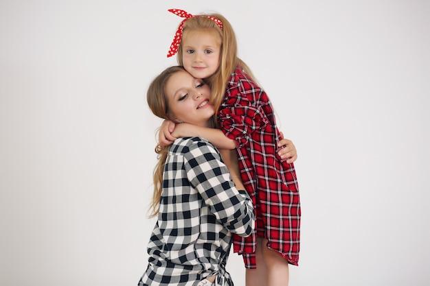 Mooie moeder en dochter