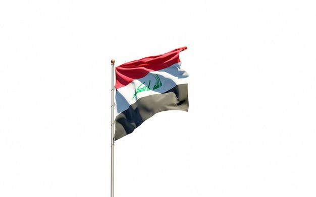 Mooie nationale vlag van irak