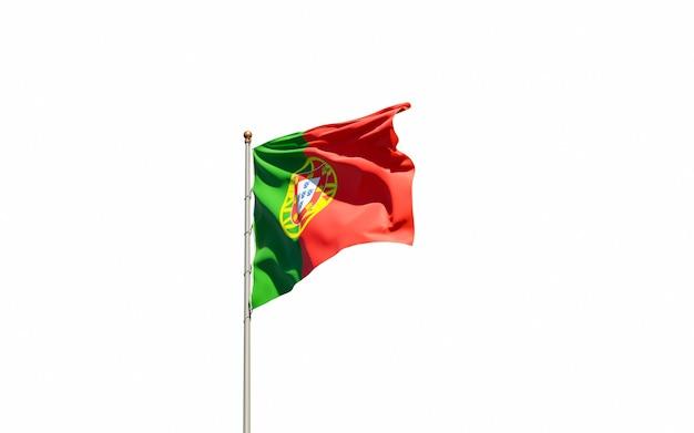 Mooie nationale vlag van portugal