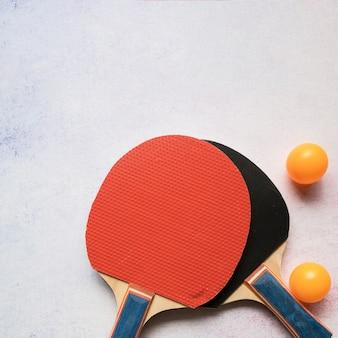 Mooie sportsamenstelling met pingpongelementen