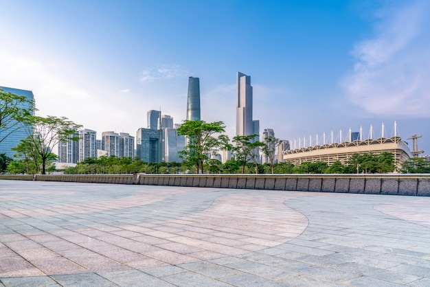 Mooie stadshorizon van guangzhou