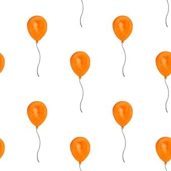 Mooie tekeningen van ballonnen voor de feestdagen. foto geschilderd met aquarellen. detailopname. concept voorbereiding op vakantie. gefeliciteerd voor familieleden, familie, vrienden en collega's
