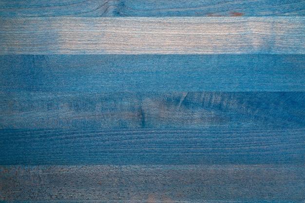 Mooie textuur van houten tafel in blauwe kleur. lama's horizontaal. ruimte om hier uw eigen tekst in te voegen.