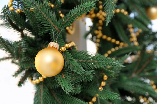 Mooie trendy kerstkrans, close-up