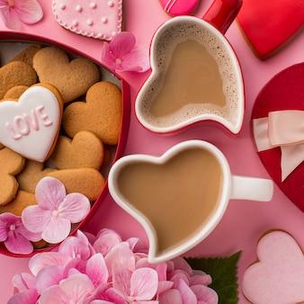 Mooie valentijnsdag concept