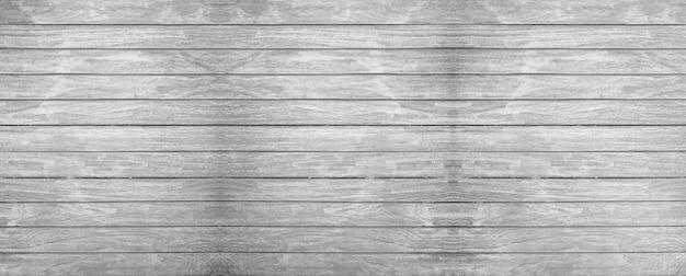 Mooie vintage zwart-witte houten muur textuur achtergrond