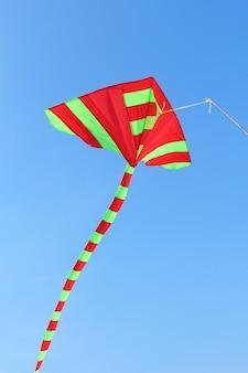 Mooie vlieger in een vliegerfestival, thailand