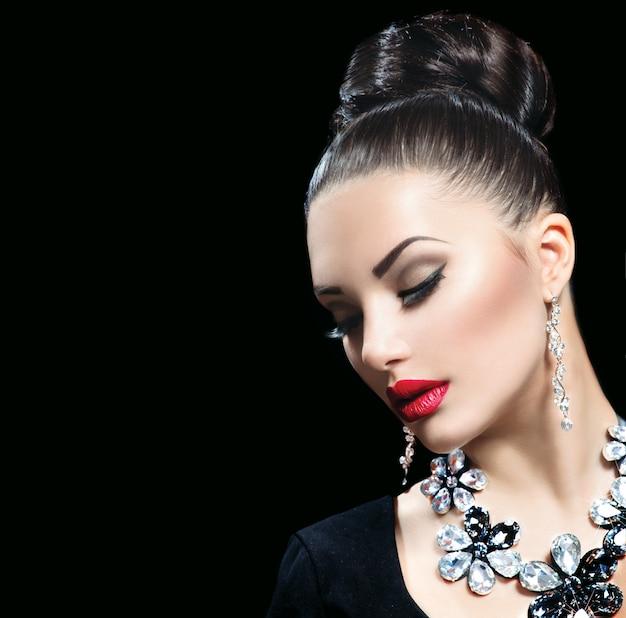 Mooie vrouw stijlvol