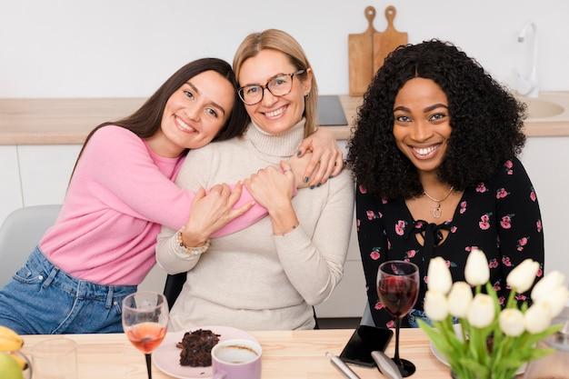 Mooie vrouwen plezier samen