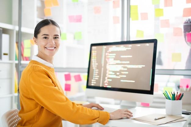 Mooie webdesigner