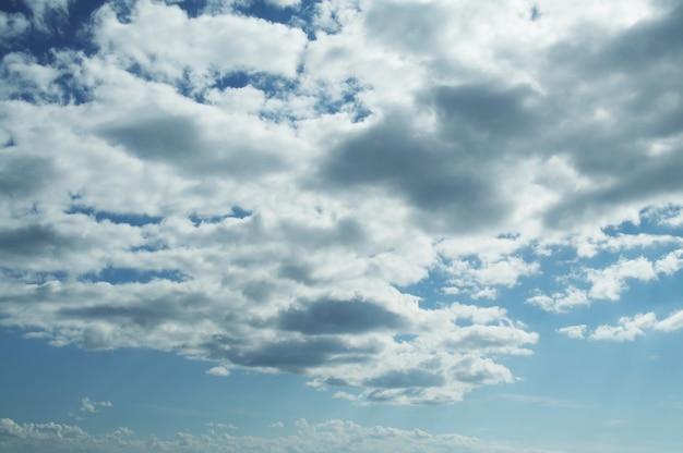 Mooie wolken en lucht