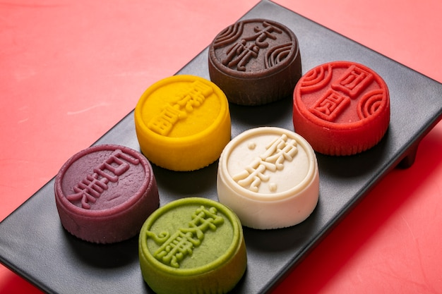 Mooncake op mid-autumn festival uit china