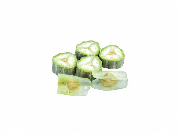 Moringa oleifera lam op wit