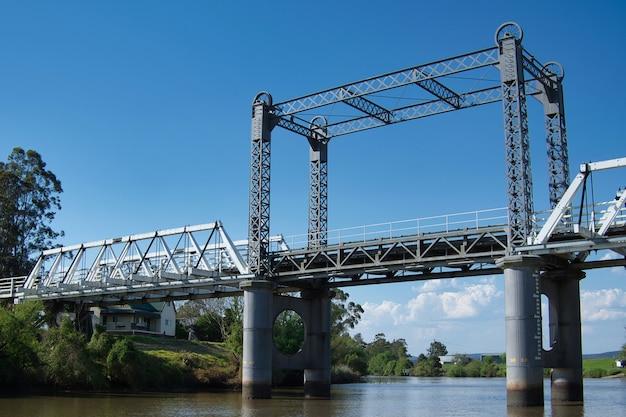 Morpethbrug tijdens new south wales, australië