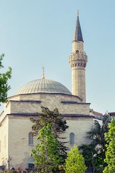 Moskee hall mahmud pasha in istanbul, turkije
