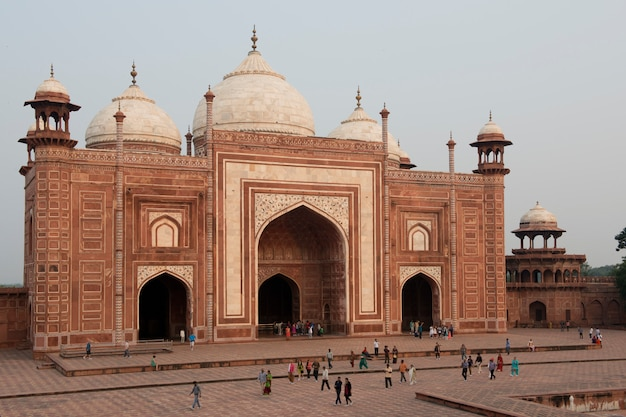 Moskee van de taj mahal