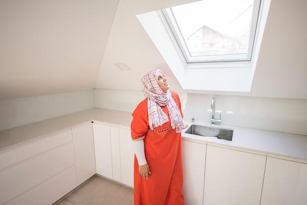Moslim moderne vrouw