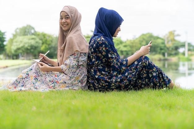 Moslim tieners sociale media