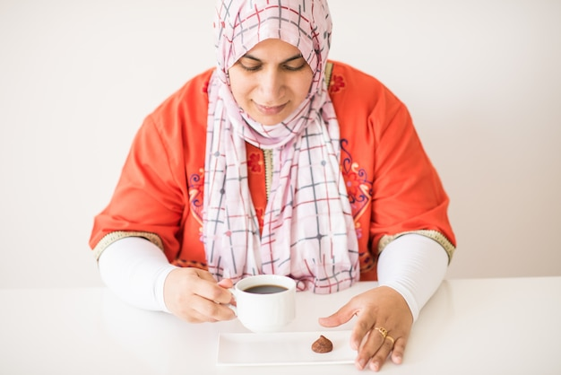 Moslim traditionele vrouw