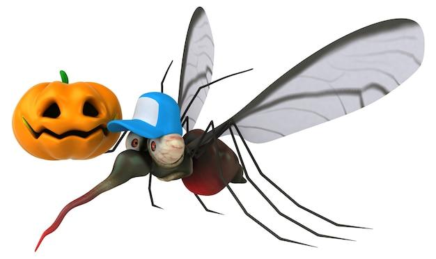 Mosquito 3d-afbeelding