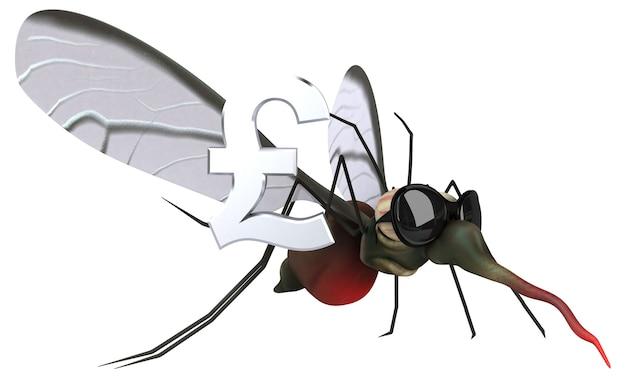 Mosquito - 3d illustratie
