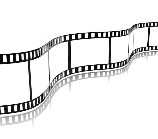 Motion picture film stripe
