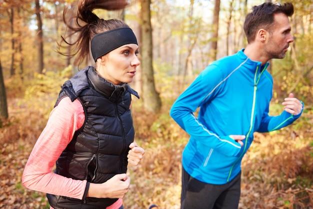 Motivatie is hard nodig tijdens het joggen