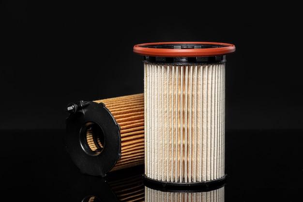 Motor van een auto filter