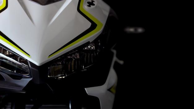 Motorfiets bigbike in showroom
