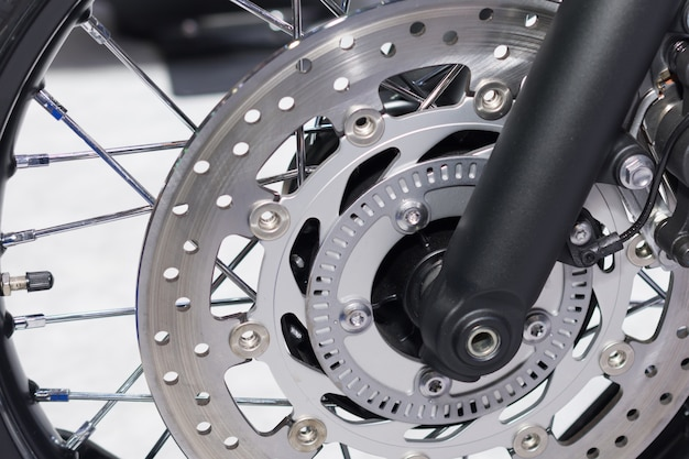 Motorfiets schijfremsysteem
