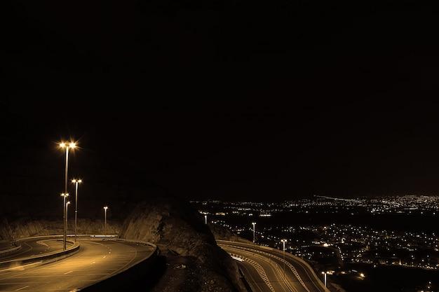 Mountain road oman