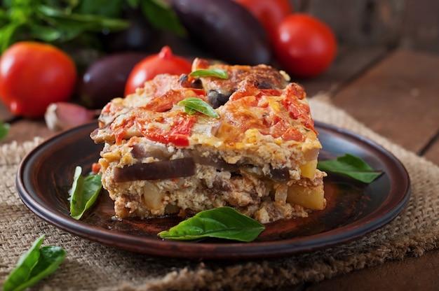 Moussaka - een traditioneel grieks gerecht