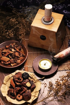 Moxibustion chinese geneeskunde