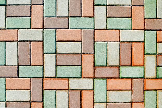 Mozaïek granieten stoep achtergrond
