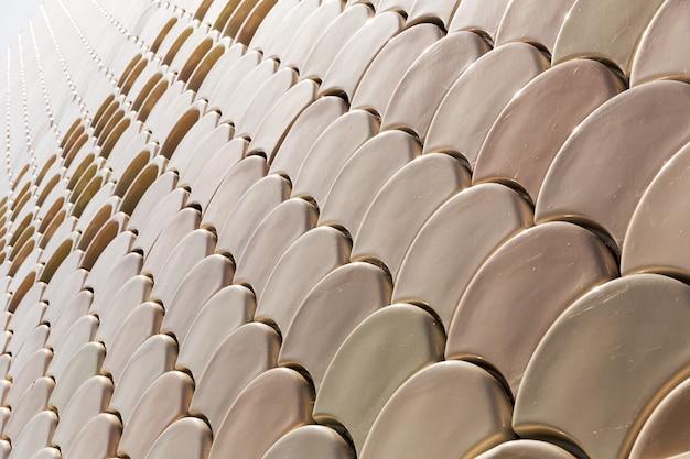 Mozaïekpatroon van keramische tegels
