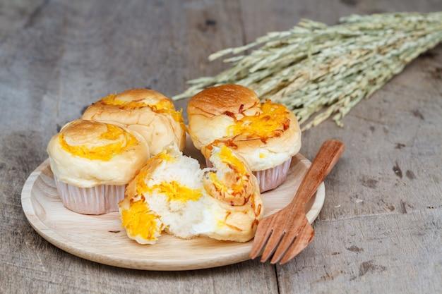 Muffin gouden draden