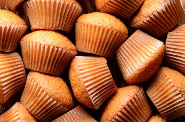 Muffin patroon. kan als achtergrond worden gebruikt