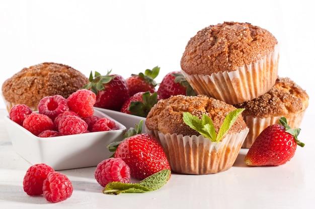Muffins met bessen