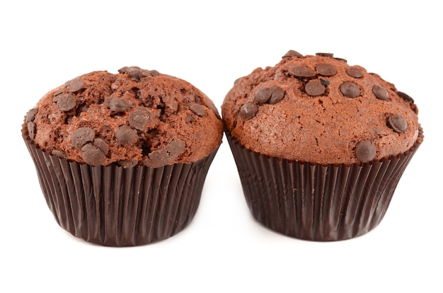 Muffins op wit