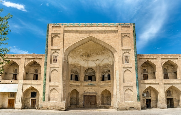 Mullo tursunjon madrasah in bukhara, oezbekistan. centraal-azië