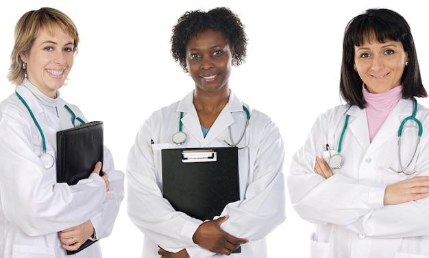 Multi-etnisch medisch team