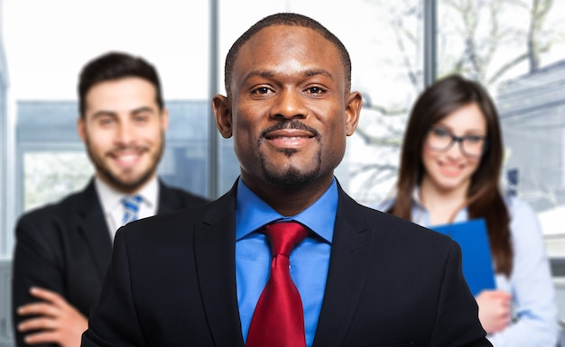 Multi-etnische zakenmensen