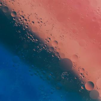 Multi gekleurde achtergrond met olie bubbels