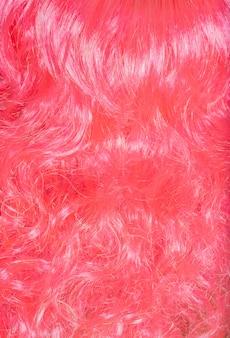 Multi-gekleurde haren close-up
