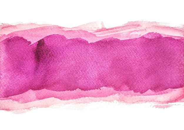Multilayer paarse aquarel achtergronden, met de hand schilderen