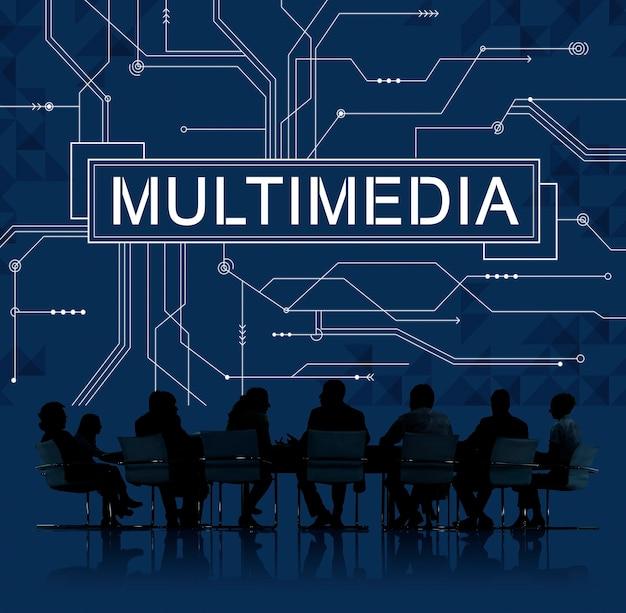 Multimedia bedrijf