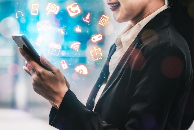 Multimedia en computertoepassingen concept