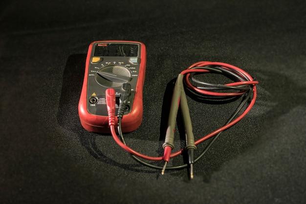 Multimeter elektriciens apparaat