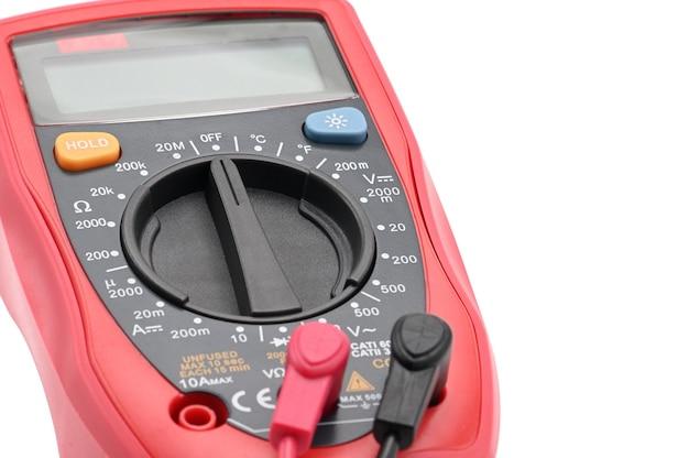 Multimeter voor het werken met geïsoleerde elektriciteit