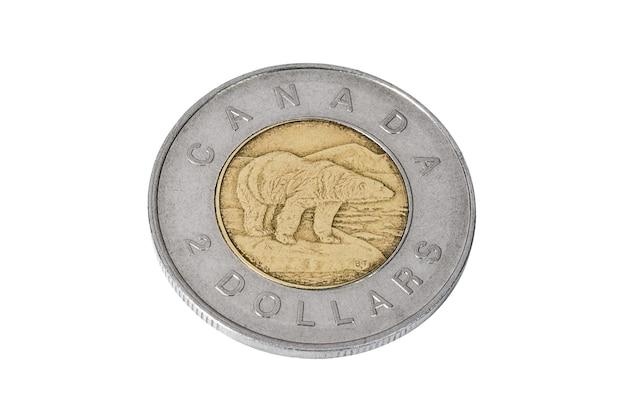 Munt van twee canadese dollars